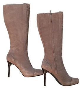 Cole Haan Maria Sharapova Greige Taupe Nike Air Suede Grey Boots
