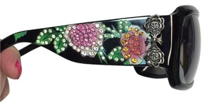 Ed Hardy Skull And Roses Sunglasses