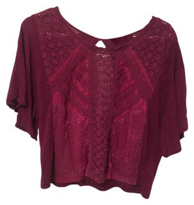 Kimchi Blue Urban Outfitters Top Magenta