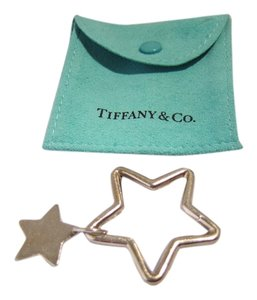 Tiifany & Co Tiffany & Co Rare Silver Double Star Key Ring