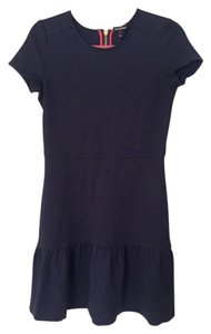 Juicy Couture short dress Navy Ponte Mini on Tradesy