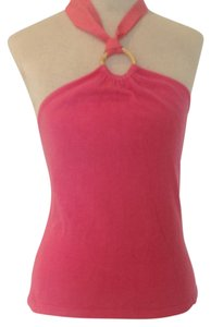 J.McLaughlin Pink Halter Top