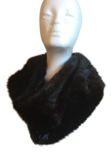 Couture Accessories Faux Fur And Satin Infinity Scarf Wrap