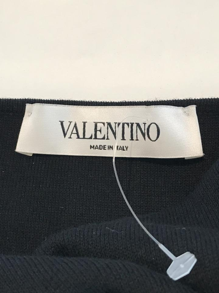 Valentino Bow Black Office Dress Work rqrFgTWHf
