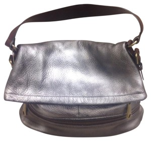Fossil Satchel in Peweter