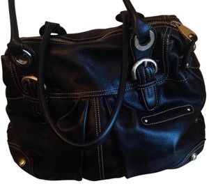 B. Makowsky Satchel in Black