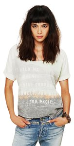 Free People We The T Shirt Oatmeal