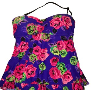 Betsey Johnson Tankini Top