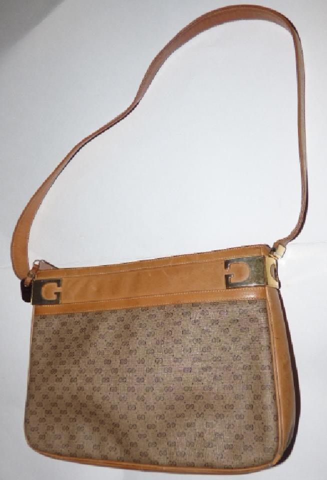 f879086546c1 Gucci Vintage Purses Designer Purses Shades Of Brown with Small G ...