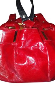 Jessica Simpson Faux Leather Leather Studded Hobo Bag
