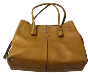 Tod's Satchel in Tan
