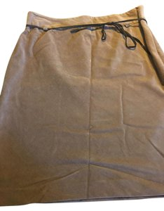 Ann Taylor Pencil Priced To Sell Corduroy Fall Petites Skirt Tan