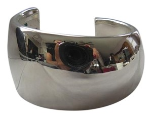 Simon Sebbag Sterling Silver Wide Cuff; Medium