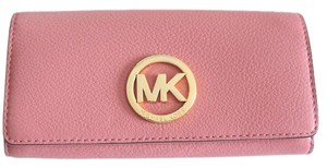 Michael Kors MICHAEL Michael Kors Fulton Tulip Carryall Pebbled Leather Wallet
