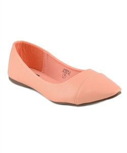 Other Faux Blush Flats