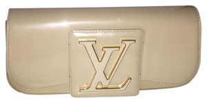 Louis Vuitton Cream Clutch