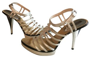Michael Kors Metallic Silver Platforms