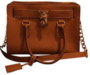 MICHAEL Michael Kors Satchel in Tan
