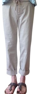 James Perse Straight Pants Tan
