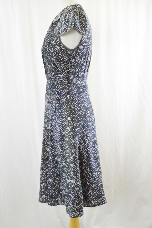 New Listing NWOT Dressbarn Women's blue, white and beige lace dress size 6.
