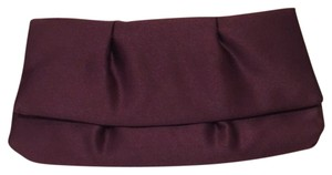 David's Bridal Red and purple Clutch