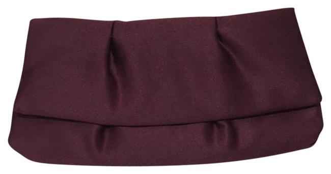 Item - Red and Purple Satin Clutch