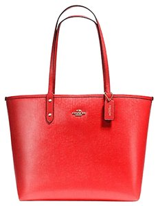 Coach Travel Oversized Large Tote in Red