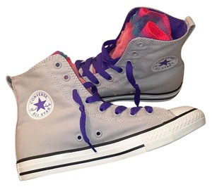 Converse Purple and Grey Athletic