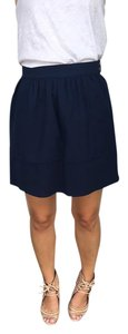 Madewell Scuba Mini Skirt Navy