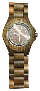Mustard Seed Seed Environmentally-Friendly Phloem Wood Watch (Moss)