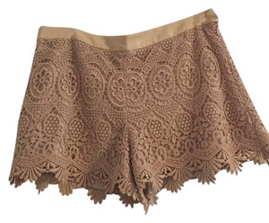 Club Monaco Lace Dress Shorts Nude
