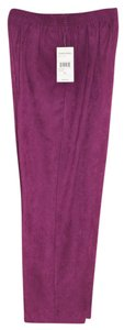 Studio Works Straight Pants Grape