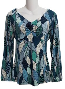Tori Richard Polyester Resort Empire Waist Tunic