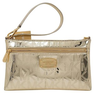Michael Kors 190049116500 35s6mttw3z Wristlet in Pale Gold