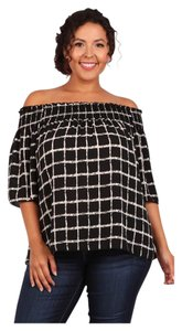 Other Plus Size Off Bohemian Curvy Tunic