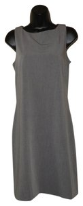 Gap short dress Gray Sleeveless Sheath Zipper on Tradesy