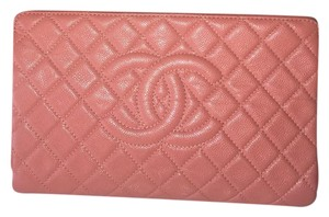 Chanel Tan/Peach Clutch