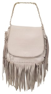 Jennifer Haley Leather Fringe Shoulder Bag