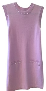 Chanel short dress Lilac Pearl on Tradesy