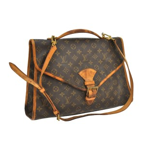 Louis Vuitton Monogram Leather Beverly Shoulder Bag