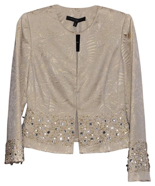 Item - Cream Blazer Size 4 (S)