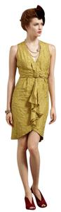 Anthropologie Vintage Party Silk Dress