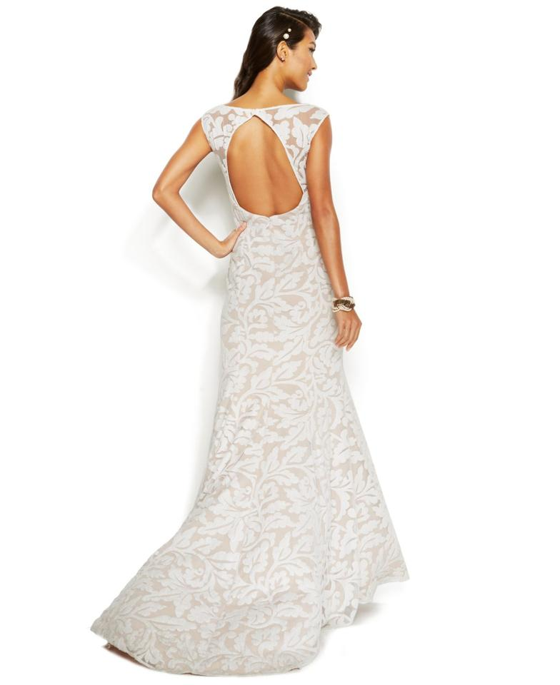 Adrianna Papell Wedding Gowns: Adrianna Papell Sleeveless Embroidered Lace Mermaid Gown