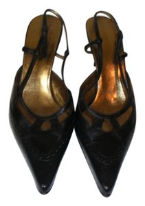 Dolce&Gabbana Classic Leather Black Leather Pumps