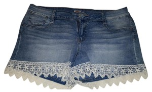 L.E.I. Mini/Short Shorts Light wash denim