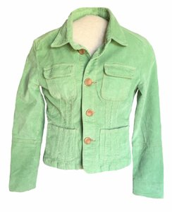 Anthropologie Mint Green Jacket
