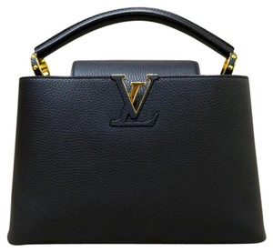 Louis Vuitton Handle Like New Lv Pm Satchel in black