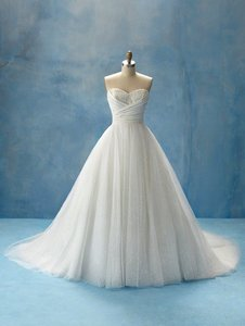 Cinderella's Disney Princess Bridal Gown From Alfred Angelo (style 205) Wedding Dress