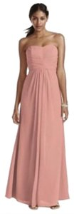 David's Bridal Bridesmaid Wedding Dress