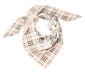 Burberry Black, pink, beige Burberry Nova check print oversized scarf